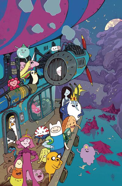 Adventure Time Season 11 #2 (Retailer 10 Copy Incentive Variant)