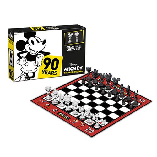Disney Mickey The True Original Collectors Chess Set – Free Shipping