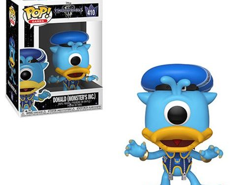 Kingdom Hearts 3 Donald Monsters Inc. Pop! Vinyl Figure #410 – Free Shipping