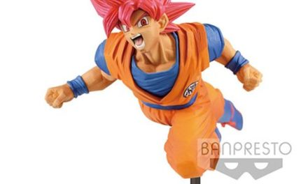 Dragon Ball Super Son Goku Fes!! Super Saiyan God Goku Vol.9 Statue