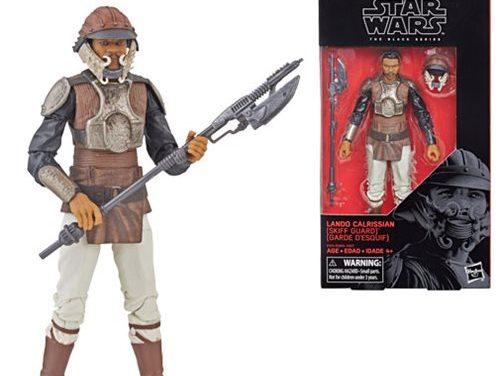 Star Wars The Black Series Lando Calrissian (Skiff Guard) 6-Inch Action Figure