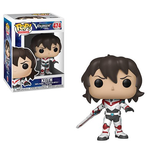 Voltron: Legendary Defender Keith Pop! Vinyl Figure #474 – Free Shipping