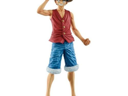 One Piece Monkey D.Luffy 20th Anniversary Masterlise Statue
