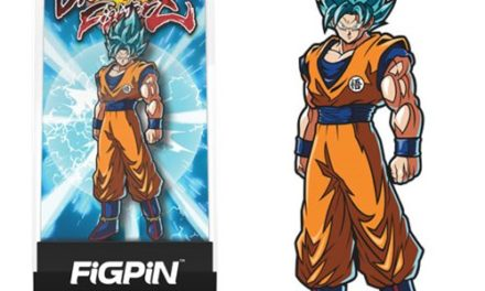 Dragon Ball FighterZ Super Saiyan God Super Saiyan Goku FiGPiN Enamel Pin