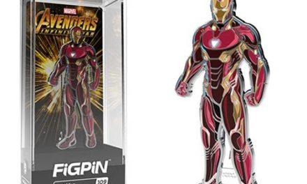 Marvel Avengers: Infinity War Iron Man FiGPiN Enamel Pin