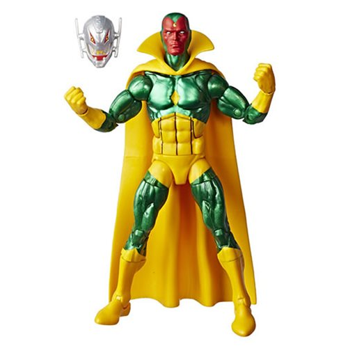 Marvel Legends Vintage Vision 6-Inch Action Figure