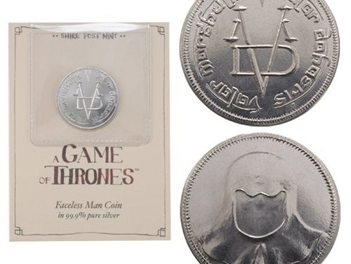 Game of Thrones Pure Silver Faceless Man Coin – Free Shipping