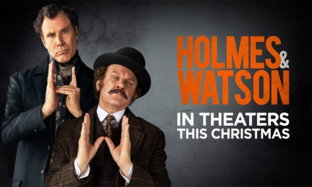 Holmes and Watson in theaters this Christmas