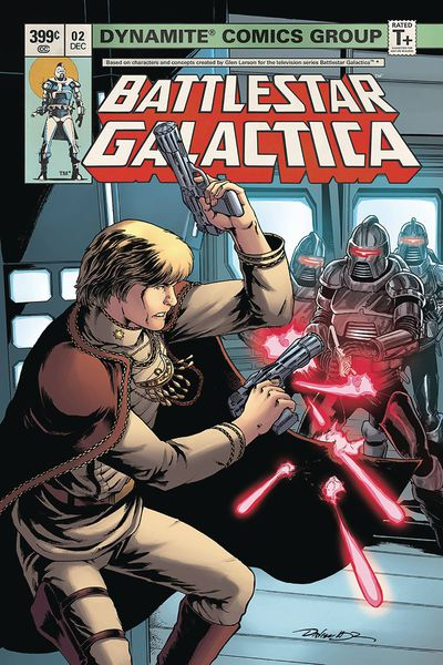 Battlestar Galactica Classic #2 (Cover B – Hdr)