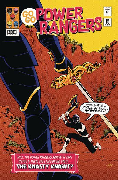Go Go Power Rangers #15 (Preorder Mok Variant) Sg
