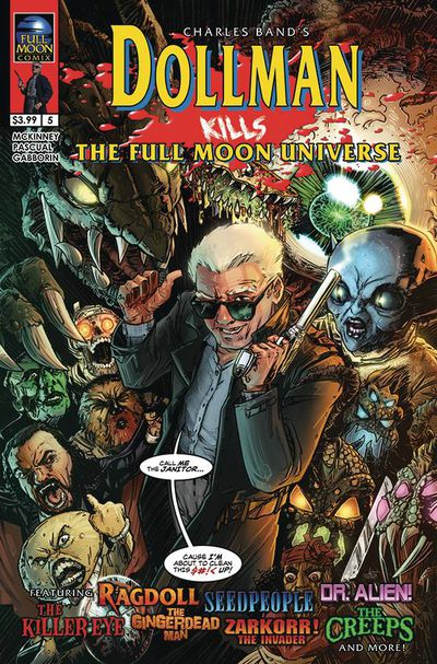 Dollman Kills the Full Moon Universe #5 (of 6) (Cover A – Strutz)