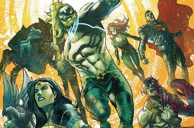 Aquaman Justice League Drowned Earth #1
