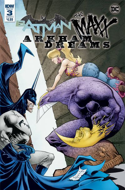 Batman the Maxx Arkham Dreams #3 (of 5) (Cover A – Kieth)