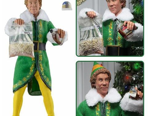 Elf Buddy the Elf 8-Inch Cloth Action Figure – Free Shipping