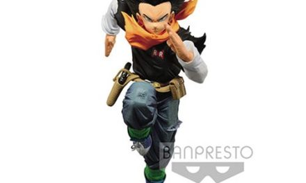 Dragon Ball Z Android 17 Banpresto World Colosseum 2 Vol.4 Statue