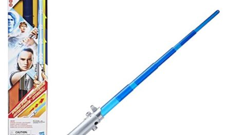 Star Wars Rey (Jedi Training) Force Action Electronic Lightsaber – Free Shipping