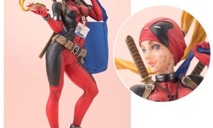 Deadpool Lady Deadpool Variant Bishoujo Statue – 2016 SDCC Exclusive – Free Shipping