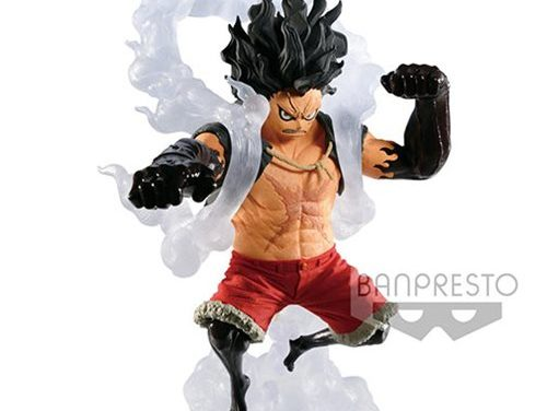 One Piece Monkey D. Luffy King of Artist The Snakeman Statue