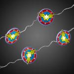 Wonder Woman Fairy String Lights