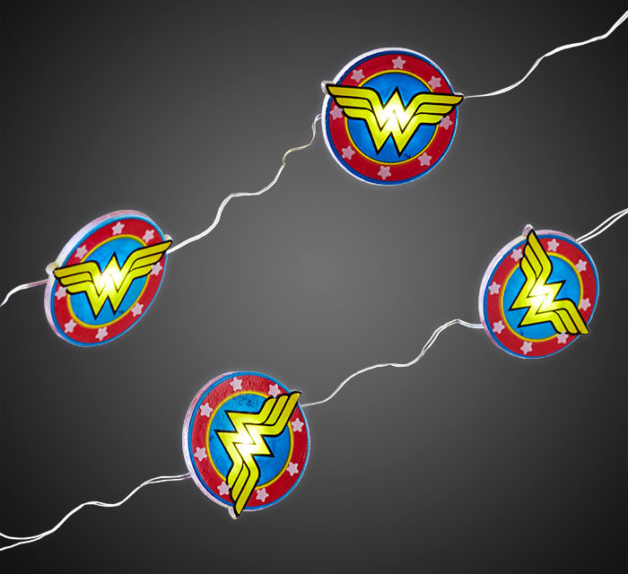 Wonder Woman Fairy String Lights