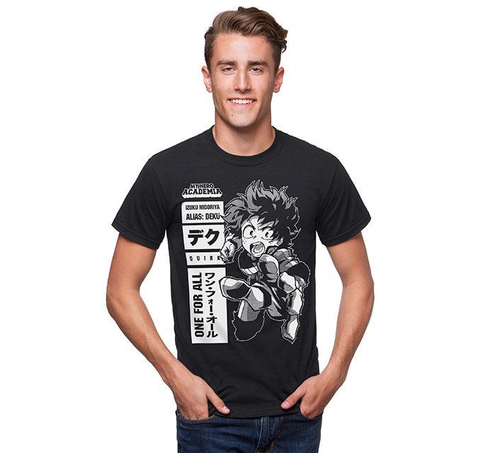 My Hero Academia One for All Deku T-Shirt