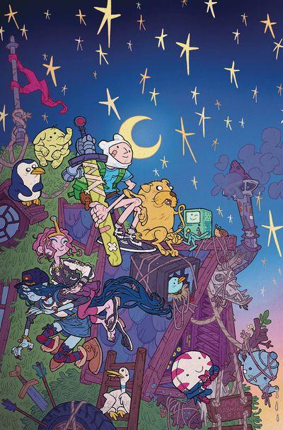 Adventure Time Season 11 #3 (Retailer 10 Copy Incentive Variant)