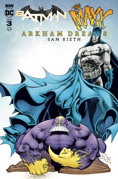 Batman the Maxx Arkham Dreams #3 (of 5) (Cover B – Kieth)