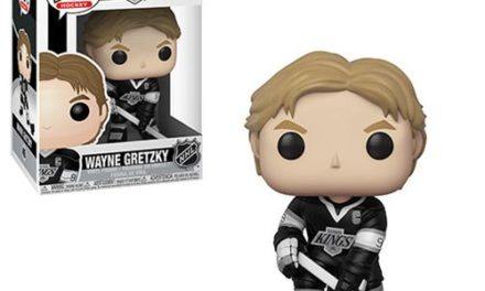 NHL Legends Wayne Gretzky LA Kings Pop! Vinyl Figure