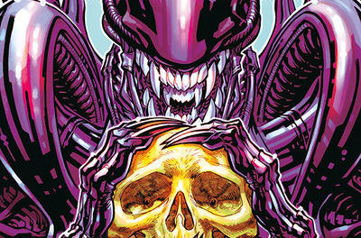 Aliens: Dust to Dust #4 (Carlos D'Anda Variant Cover)