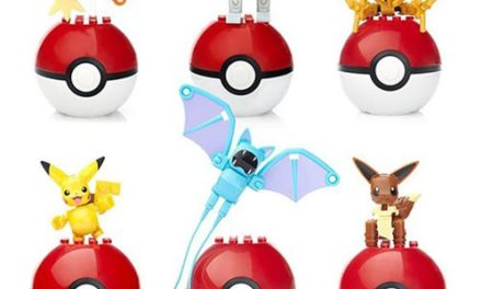 Mega Construx Pokemon Poke Ball Series 4 Case – Free Shipping