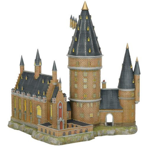 Harry Potter Village Hogwarts Great Hall and Tower Statue – Free Shipping