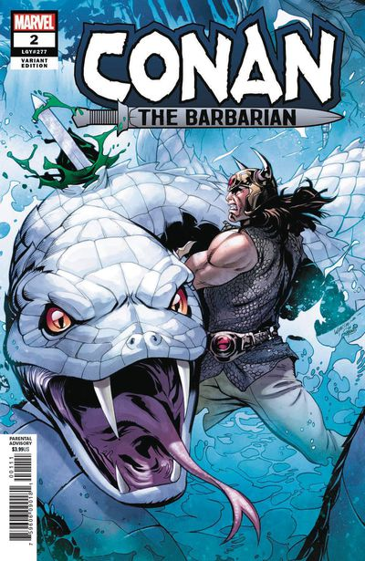 Conan the Barbarian #2 (Lupacchino Variant)