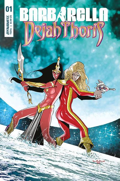 Barbarella Dejah Thoris #1 (Cover C – Qualano)