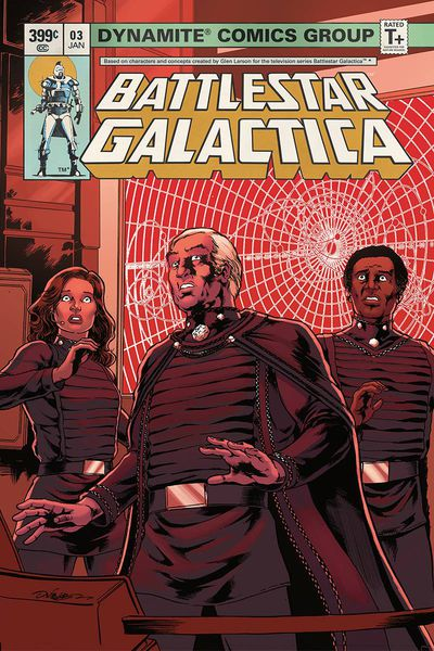 Battlestar Galactica Classic #3 (Cover B – Hdr)