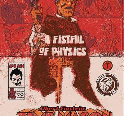 Albert Einstein Time Mason #4 (Cover B – Donley)