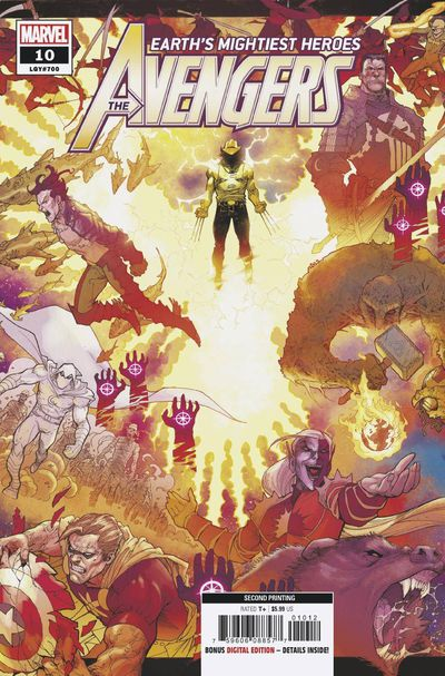 Avengers #10 (2nd Printing)