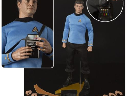 "Star Trek TOS Dr. Leonard ""Bones"" McCoy 1:6 Scale Action Figure – Free Shipping"
