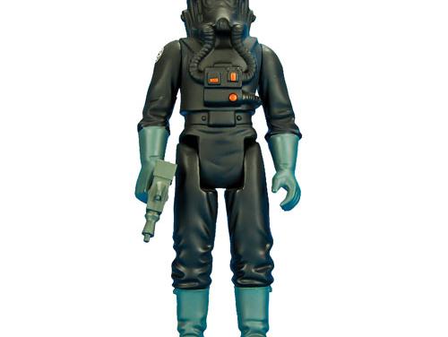 Star Wars Imperial TIE Fighter Pilot Jumbo Kenner Action Figure