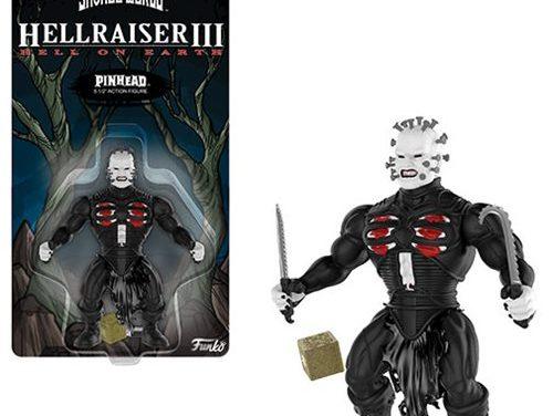 Hellraiser Pinhead Savage World Action Figure