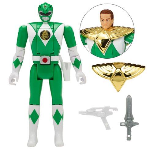 Power Rangers Legacy Mighty Morphin Green Ranger Head Morph Action Figure