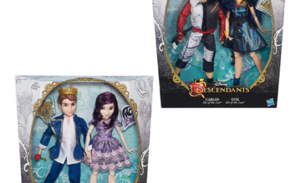 Disney Descendants Dolls Two-Pack Wave 1 Case – Free Shipping
