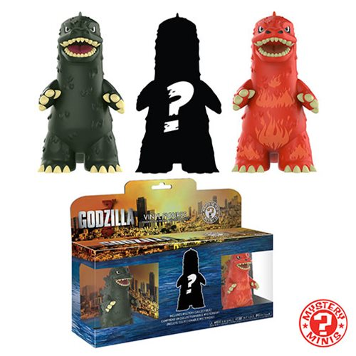 Godzilla Mystery Minis 3-Pack