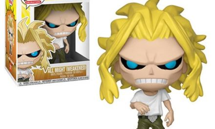 My Hero Academia All Might Weakened Pop! Vinyl Figure #371