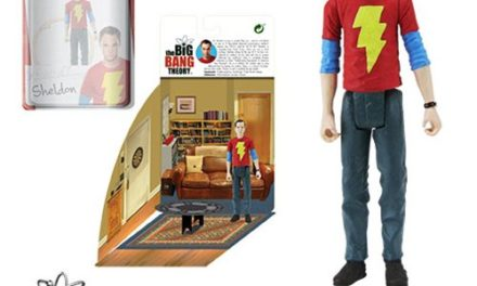 The Big Bang Theory Sheldon in Shazam T-Shirt 3 3/4-Inch Action Figure Series 2