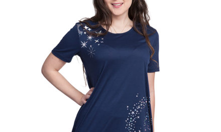 Star Flurry Tunic Top