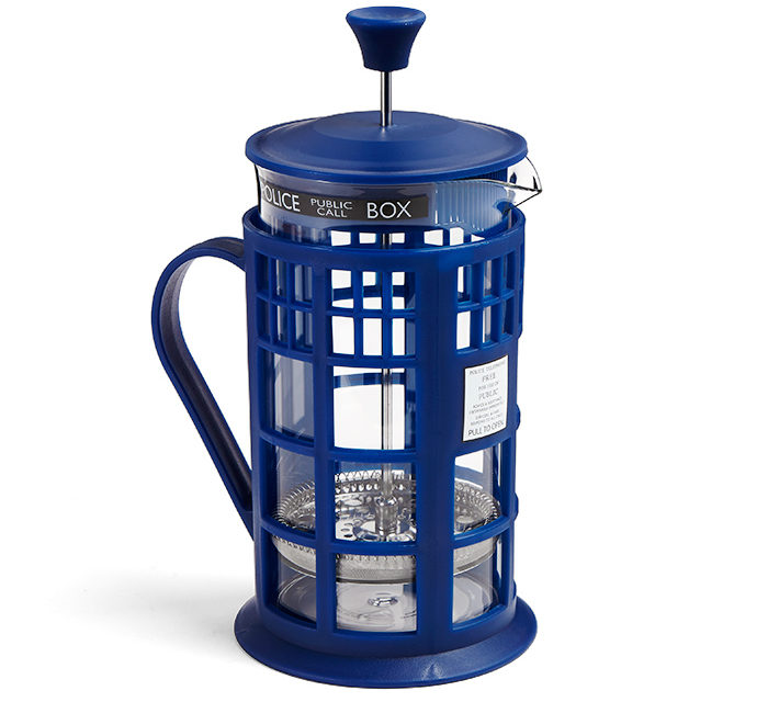 Doctor Who TARDIS Coffee Press
