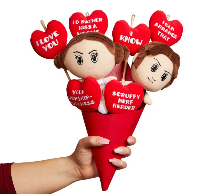 Star Wars Plush Bouquet – I love you, I know