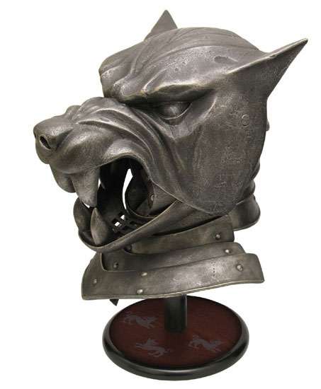 Game of Thrones Hound's Helmet Prop Replica