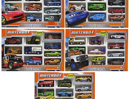 Matchbox Vehicles Gift Pack Case