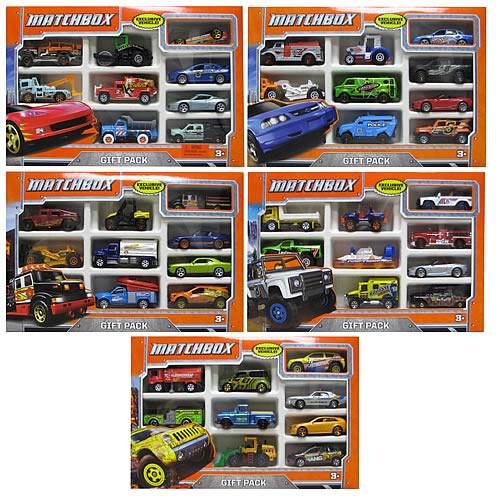 Matchbox Vehicles Gift Pack Case